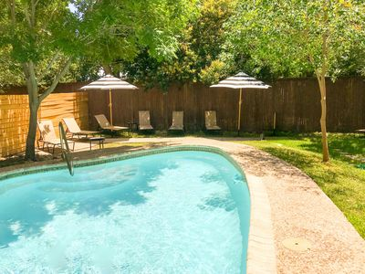 Photo for NEW! House w/Private(Not Shared)Pool; walk to zoo & museums, close to downtown