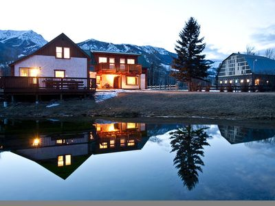 Photo for 90+ Acre Ranch Directly On The Elk River In The Heart of the Canadian Rockies!