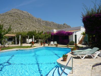 Photo for 3BR Villa Vacation Rental in Pollenca, Pollenca
