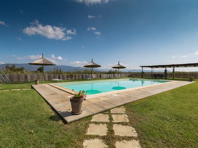 Photo for Rugantina- Large Tuscan countryhouse with private big pool and gardens, sleeps14