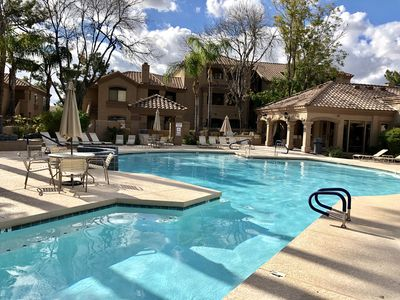 Photo for New listing~ North Scottsdale! Modern/updated & lush resort setting, wifi & pool