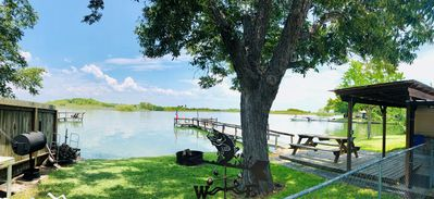 Photo for Waterfront lake house w/private pier near Lake Corpus Christi State Park
