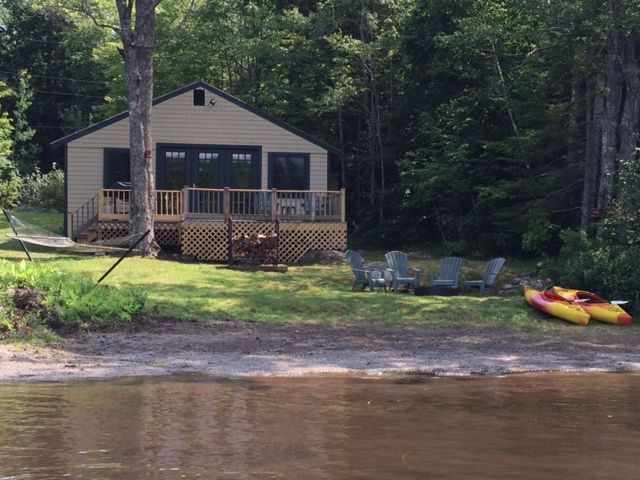 Cozy Beech Hill Pond Cottage Private HomeAway Otis - And architectural cottages on secluded private pond homeaway