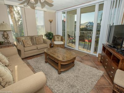 Photo for DP 202A - 2 BR on the Harbor with short walk to the beach - Free use of beach caddy with rental