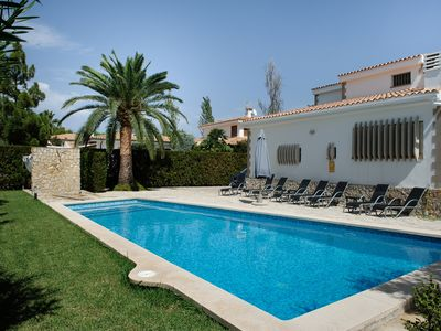 Photo for Villa With Private Pool And Garden In Pto. Pollensa