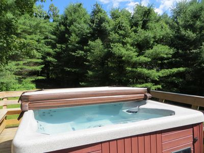 Photo for Private North Conway 9bdrm Lodge. 2 mins to Cranmore!