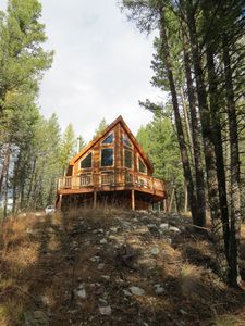 A-Frame Cabin In The Woods ~ Amazing Views Of The Mountains!