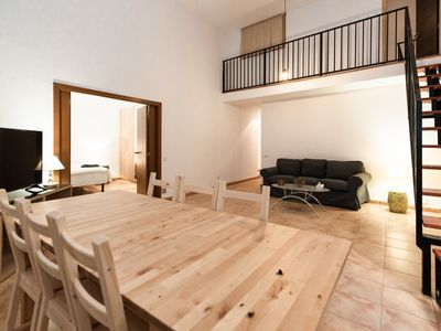 Photo for MODERN DUPLEX IN THE CENTER OF BARCELONA FOR TEMPORARY STAYS FOR 6