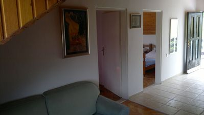 Photo for Apartment in Zelenika, 3-4km close to Herceg Novi. Wi - Fi, Parking place
