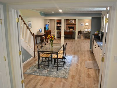 Photo for Cozy Apartment in Private, Wooded Hillside Home • Enjoy Biking, Hiking, Kayaking