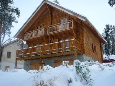 Photo for Traditional chalet 70 m2 comfortable in LA JOUE DU LOUP