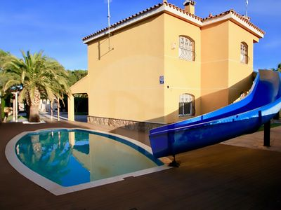 Photo for Villa with pool and slide