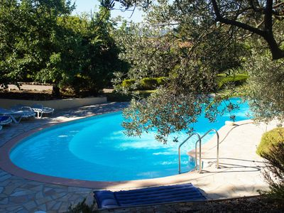 Photo for Charming Villa, Pool, 3 Bedrooms, 980 m from the center