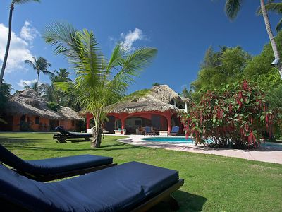 Photo for 'Villa PACHUCO', magnificent villa 200 m from the most beautiful beach in Las Terrenas
