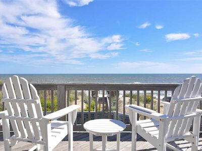 Photo for Summer Winds: Oceanfront, 11 bedroom-private pool, hot tub and theater room.