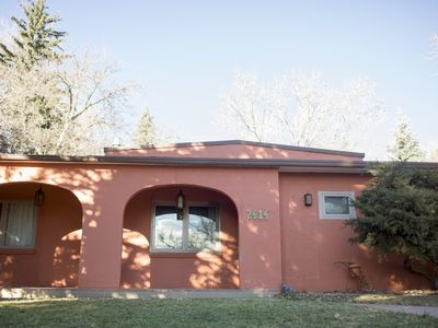 Photo for Rocky Mountain Views & Epic Palmer Park Trails- Eclectic Modern Mexican Villa
