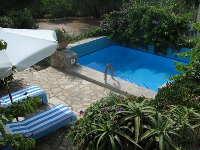 Photo for Romantic villa retreat for two with private pool, Kefalonia