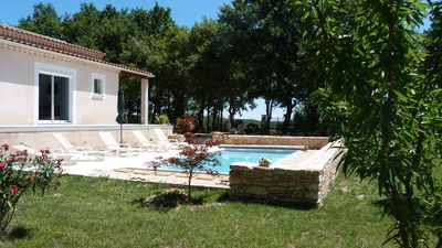 Photo for All air-conditioned villa with swimming pool 6 to 7 people