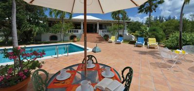 Villa Les Zephyrs -  Ocean View - Located in  Beautiful Terres Basses with Private Pool