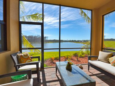 Photo for Enjoy Serene Lake Views and Treviso Bay's Resort Style Amenities!