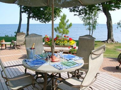Photo for Breathtaking Views of  Lake Mille Lacs at Izatys Resort