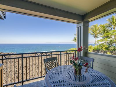 Photo for Hali'i Kai Luxury Condo | Ocean Front | AC | Starting at $399/n