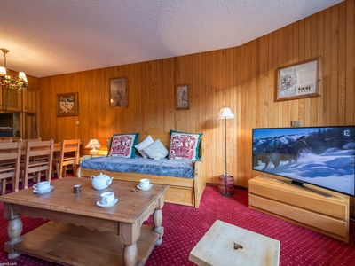 Photo for Courchevel 1850 - Attractive sunny apartment ski in and ski out