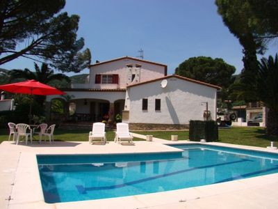 Photo for Club Villamar - Beautiful villa with nice garden in quiet residential area of Calonge just a 4 km...