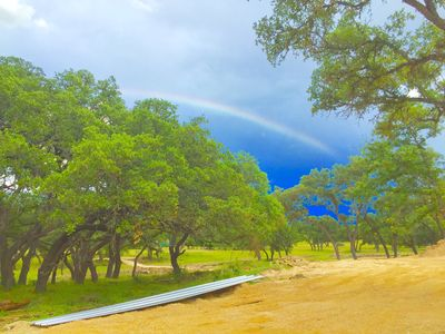 Photo for Beautiful Hill Country Cabins with kitchenettes, close to Boerne & Bulverde.