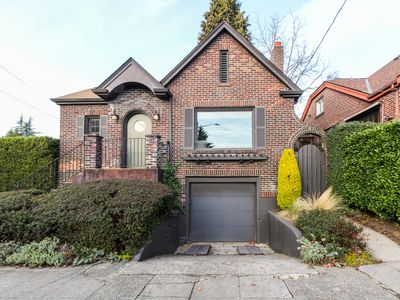 Photo for Gorgeous Tudor-style home w/ updated interiors & views of nearby Green Lake!