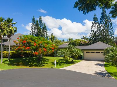 Photo for Kiahuna Stunning 4 Bedroom 3 Bathroom Home with Private Pool and Waterfall