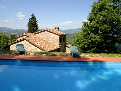 Photo for Villa With Private Pool, Lake And Mountain Views. 10 % discount for June / July