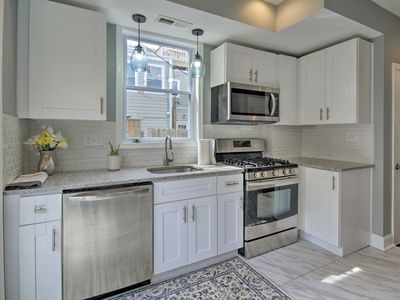 Photo for NEW! Baltimore Townhome w/ Patio & Skyline Views!