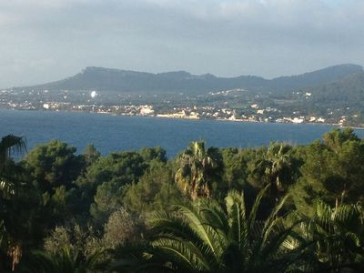 Photo for Private Villa With Superb Seaviews and palm Garden. Pet Friendly
