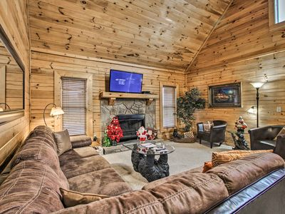Photo for NEW! Pigeon Forge Area Cabin - Near Douglas Lake!