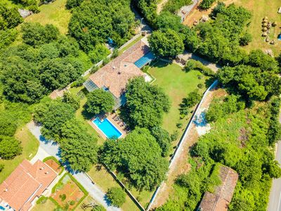 Photo for Istrian luxury villa - 300m2, garden 2000m, children's playground, 40m2Pool, WiFi