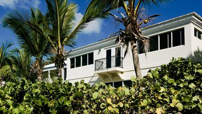 Photo for BIG WATERFRONT BEACH HOUSE WALK TO CRUZ BAY RESTAURANTS AND SHOPPING