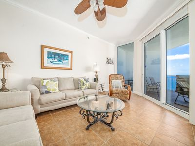 Photo for Condo w/ Hot Tub, Steps To The Beach, Beach Service Included