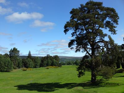 Photo for spacious 6 bedroomed house with stunning views on private Highland Estate