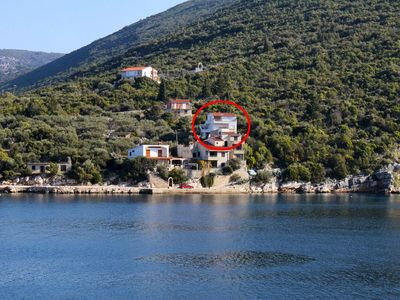 Photo for Apartment in Pokrivenik (Hvar), capacity 2+0
