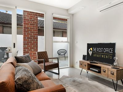Photo for BRAND NEW! Post Office Apt St Kilda East 2 bed 2 bath Duplex
