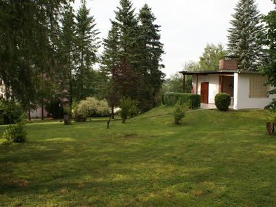 Photo for Near the spa facilities, large terrace offers a view of the countryside. Family