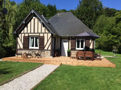 Photo for 5 minutes from honfleur house with garden and parking for 7 people