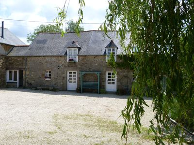 Photo for Lovely stone cottage between Dinan and the coast
