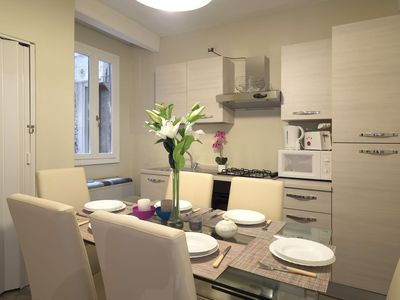 Photo for Bright apartment with balcon, Biennale area