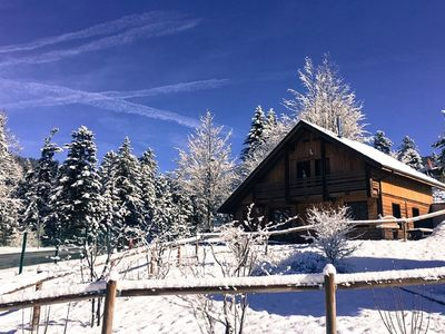 Photo for Chalet Jeanne with WIFI, private JACCUZI & SAUNA 2min from the ski slopes