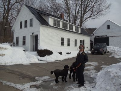 Photo for Charming, Sun-filled Farmhouse - Perfect Base For Skiing Mt. Sunapee And Beyond