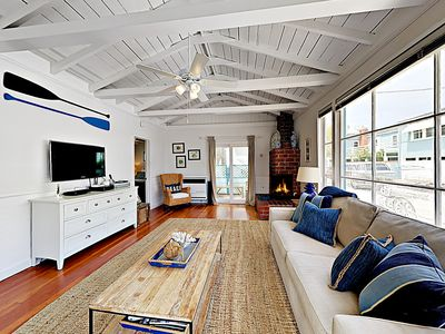 Living Room - Welcome to Newport Beach! This home is professionally managed by TurnKey Vacation Rentals.