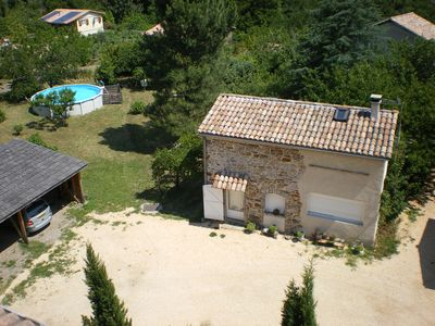 Photo for 3 Epis Gite in the Cevennes, quiet, independ., private pool, close shopping area