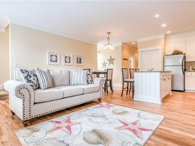 Photo for Sumptuous Three-Bedroom Condo has Huge Kitchen and Master Suite, with a French Café Downstairs!